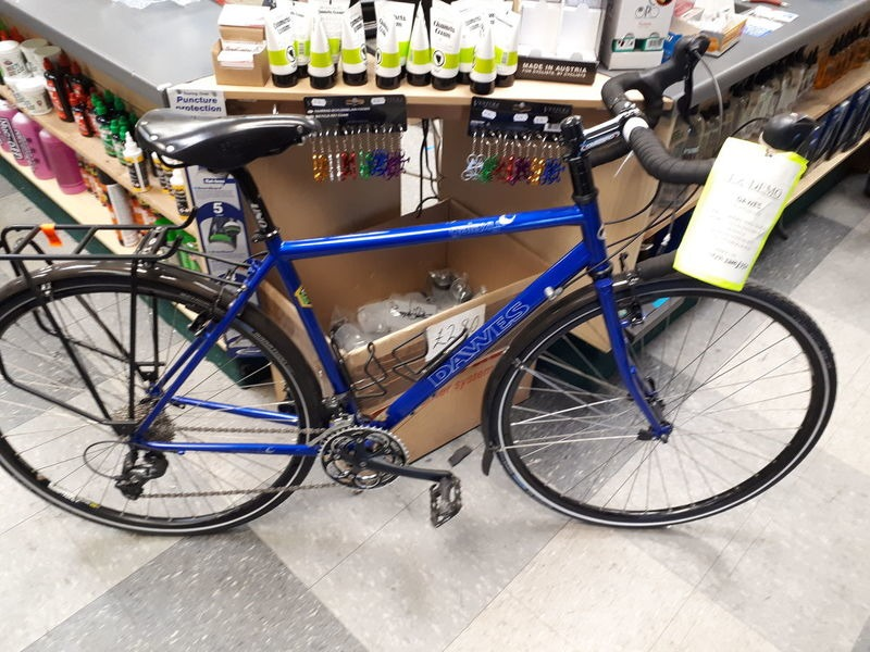 DAWES Galaxy 51cm Blue click to zoom image