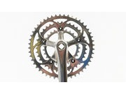 SPA CYCLES TD-2 Touring Triple Chainset with TA chainrings click to zoom image