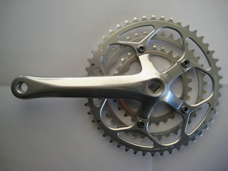 SPA CYCLES XD-2 Touring Triple Chainset With Stronglight Zicral Rings click to zoom image