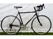 SPA CYCLES Steel Audax Shimano 105 5700 triple 52cm Gloss Black  click to zoom image