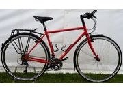 "SPA CYCLES 725 Steel Tourer 48cm Red (26"" wheels)  click to zoom image"