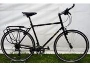 SPA CYCLES 725 Steel Tourer 51cm Gloss Black  click to zoom image
