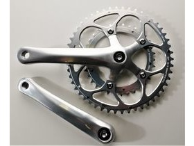 SPA CYCLES XD-2 Touring Double Chainset with Stronglight Zicral chainrings