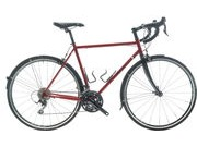 SPA CYCLES Steel Audax 105 R7000 Double 52cm Red  click to zoom image