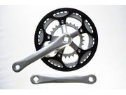 SPA CYCLES TD-2 Super Compact Chainset with Zicral Rings click to zoom image