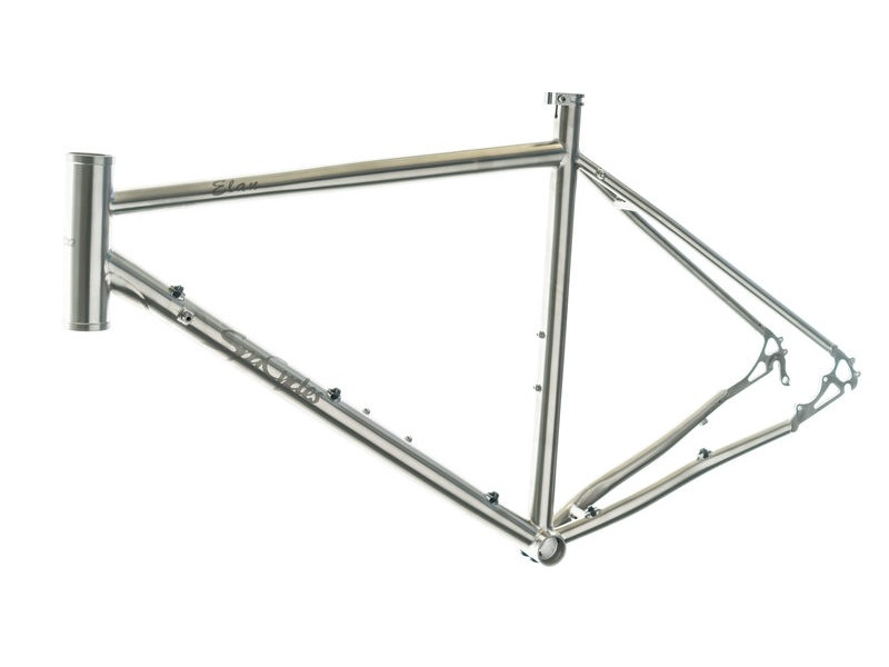 SPA CYCLES Titanium Elan Frame/Forks/Headset click to zoom image