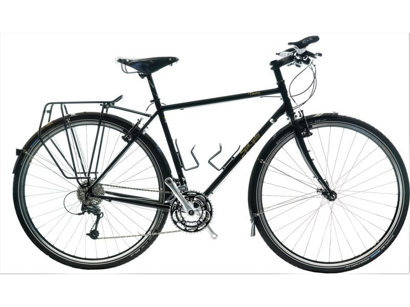 SPA CYCLES Steel Tourer Flat Bar 8 Speed click to zoom image