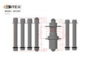 BITEX BX103R Touring Rear Hub click to zoom image