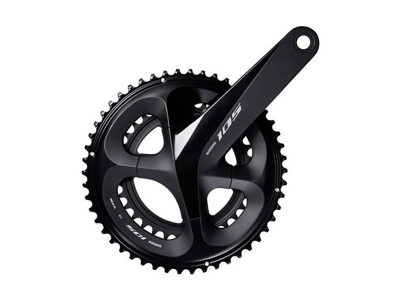 SHIMANO 105 R7000 Compact Chainset (11 Speed) click to zoom image