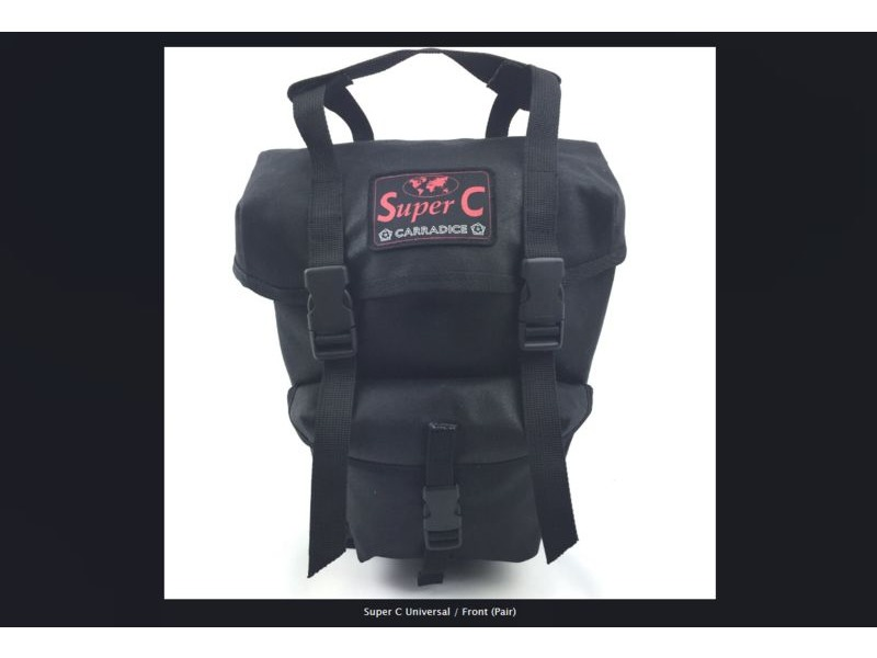 CARRADICE Super C Front Panniers click to zoom image