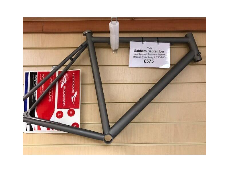 SABBATH September :: £575.00 :: Parts & Accessories :: Frames ...