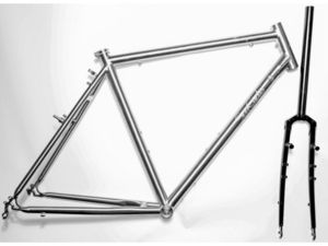 SPA CYCLES Ti Touring Brushed Frame and Forks